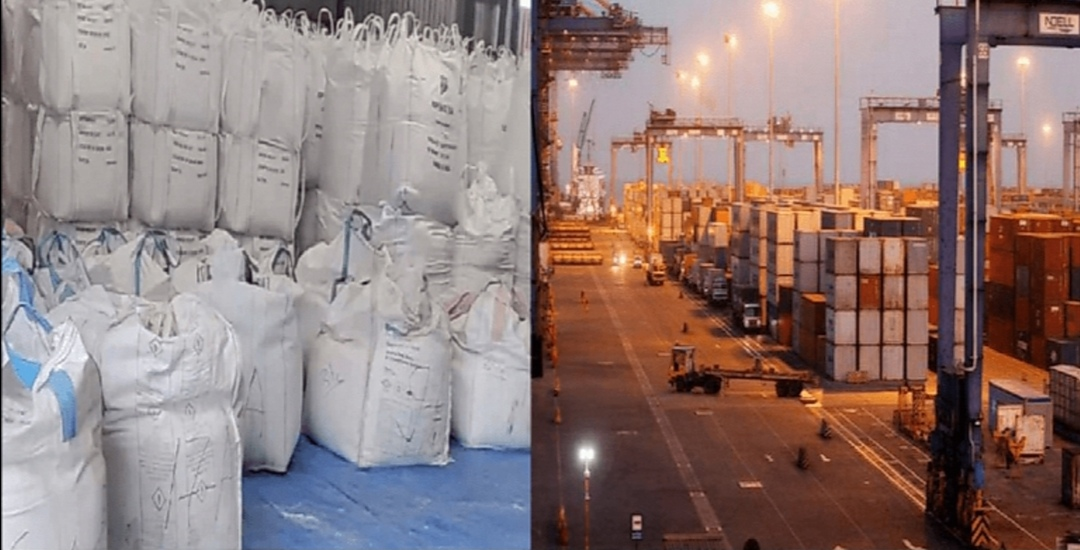 The largest heroine consignment at Adani port