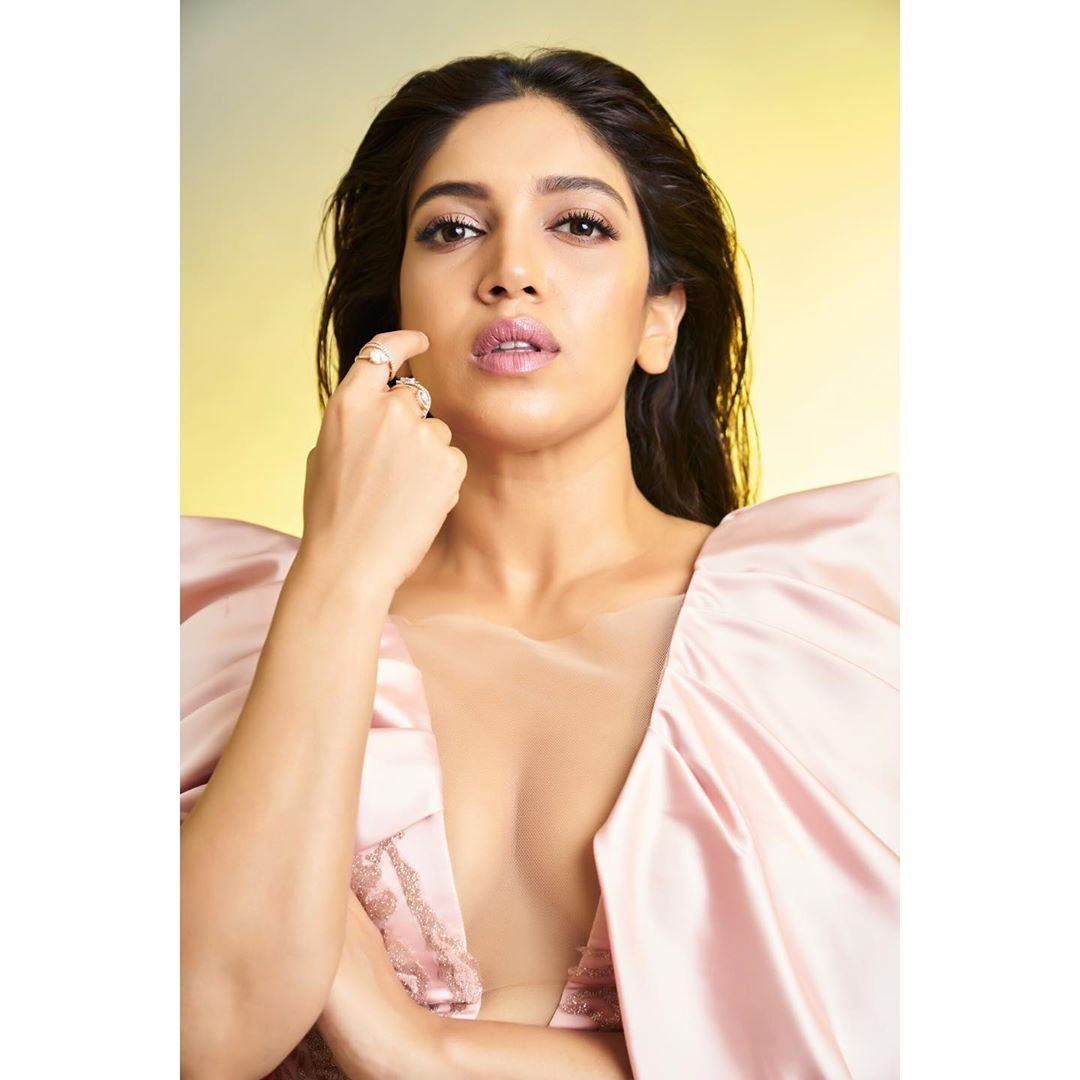 Topless photo shoot of Bhumi Pednekar