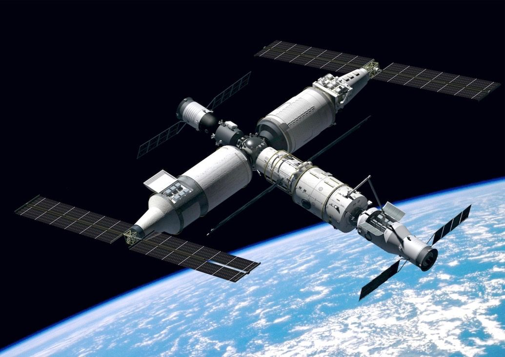 The Tiangong Space Station: China's Attempt At Improving Its Space Program