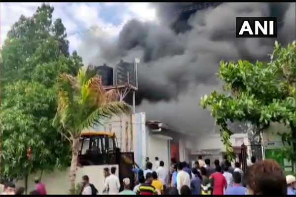 Fire at Pune Sanitizer Firm: Full Report and More About Maharashtra Fires