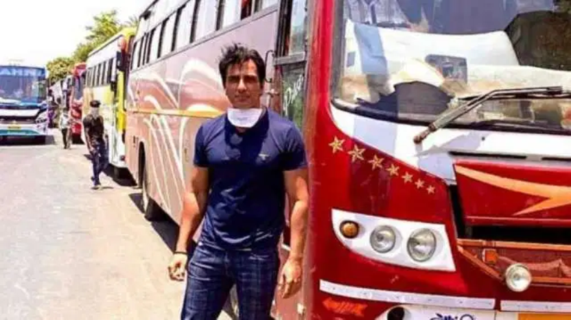 Sonu Sood is arranging buses for migrants who want to go back to their homes