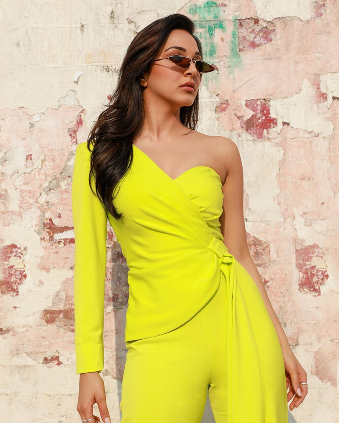 Kiara Advani in glamorous yellow